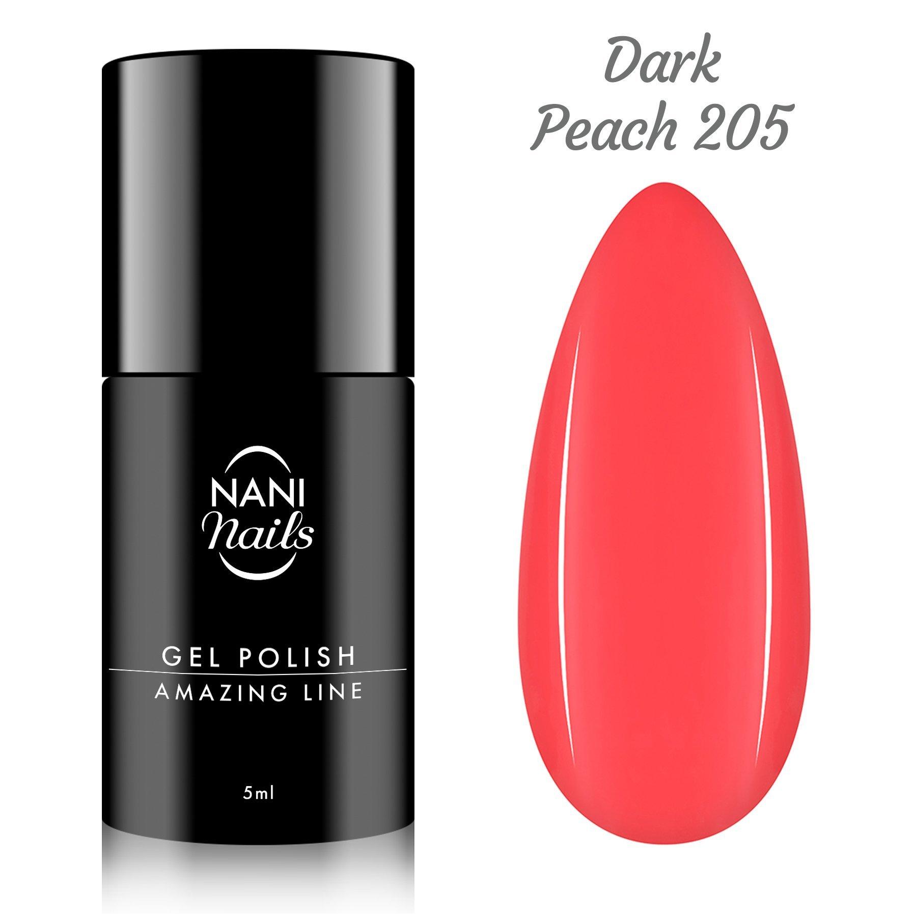 NANI gél lak Amazing Line 5 ml - Dark Peach