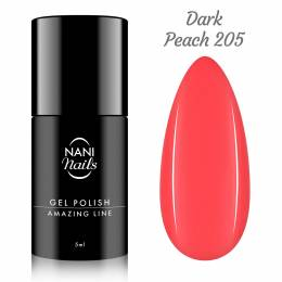 NANI gél lak Amazing Line 5 ml - Dark Peach