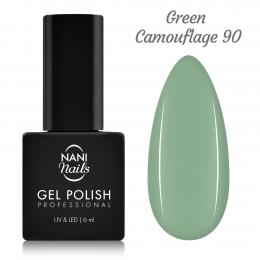 NANI gél lak 6 ml - Green Camouflage