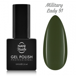 NANI gél lak 6 ml - Military Lady