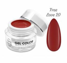 NANI UV/LED gél Professional 5 ml - Free Love