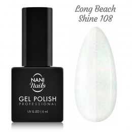 NANI gél lak 6 ml - Long Beach Shine