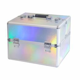 NANI kozmetický kufrík NN63 - Holographic Silver
