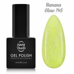 NANI gél lak 6 ml - Banana Glow