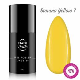 NANI gél lak One Step 5 ml - Banana Yellow