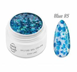 NANI UV gél Star Line 5 ml - Blue