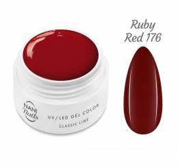 NANI UV gél Classic Line 5 ml 5 ml - Ruby Red