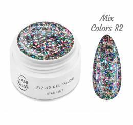 NANI UV gél Star Line 5 ml - Mix Colors