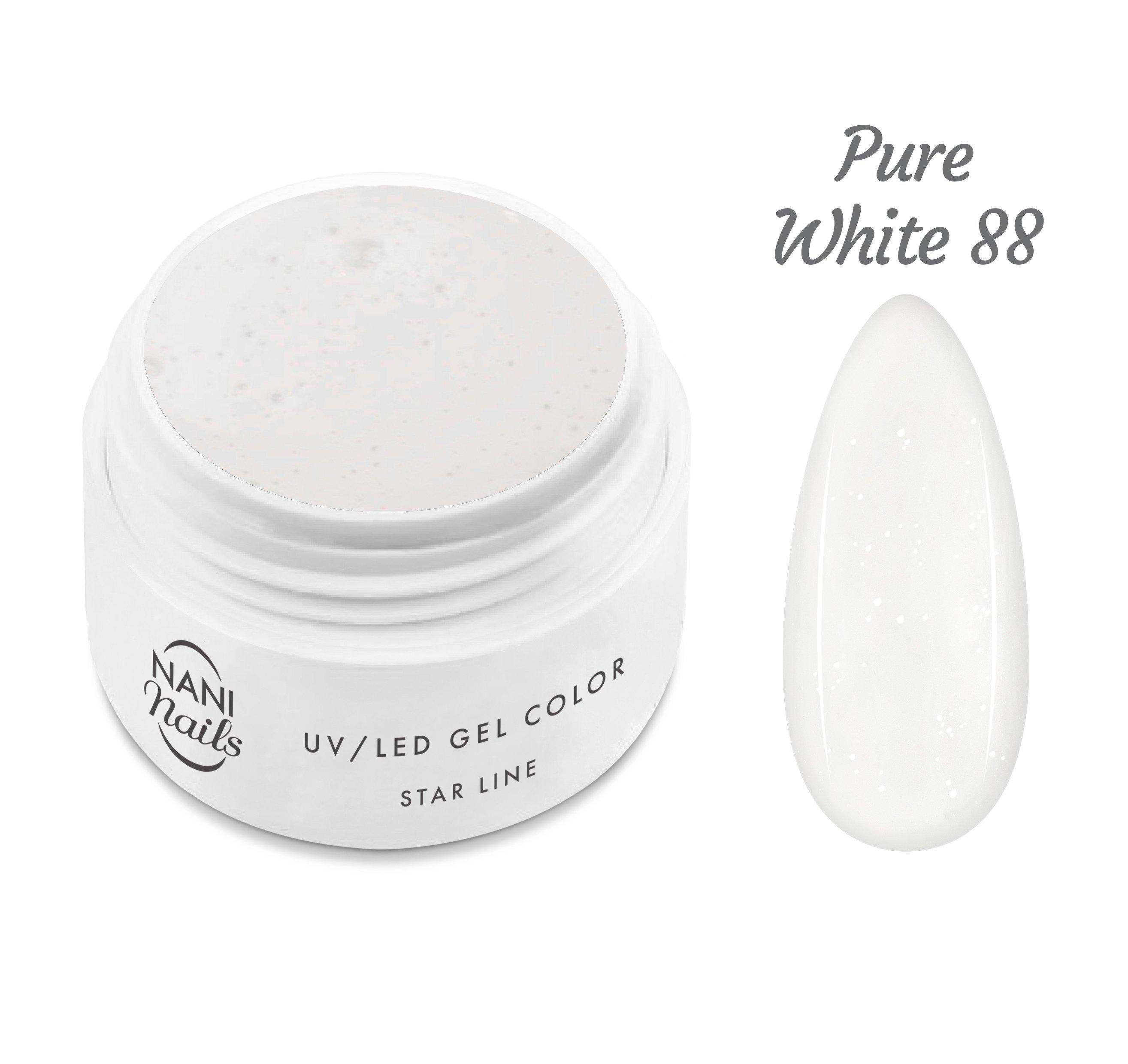 NANI UV gél Star Line 5 ml - Pure White