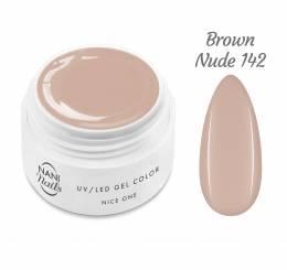 NANI UV gél Nice One Color 5 ml - Brown Nude
