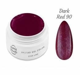 NANI UV gél Star Line 5 ml - Dark Red