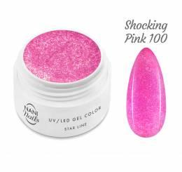 NANI UV gél Star Line 5 ml - Shocking Pink