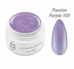 NANI UV gél Star Line 5 ml - Passion Purple