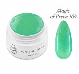 NANI UV gél Star Line 5 ml - Magic of Green
