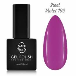 NANI gél lak 6 ml - Steel Violet