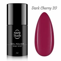 NANI gél lak One Step 5 ml - Dark Cherry