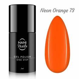 NANI gél lak One Step 5 ml - Neon Orange
