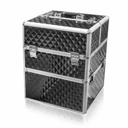NANI dvojdielny kozmetický kufrík NN18 - 3D Black